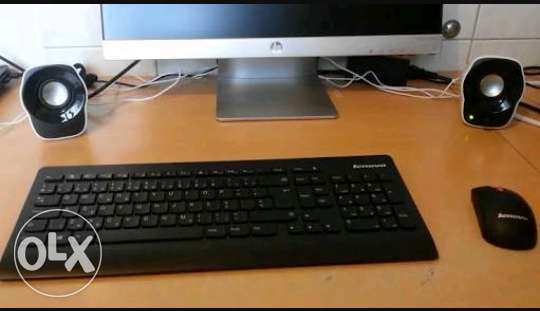 Keyboard lenovo multimedia ultra slim wifi