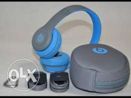 beats solo 2 wireless active blue
