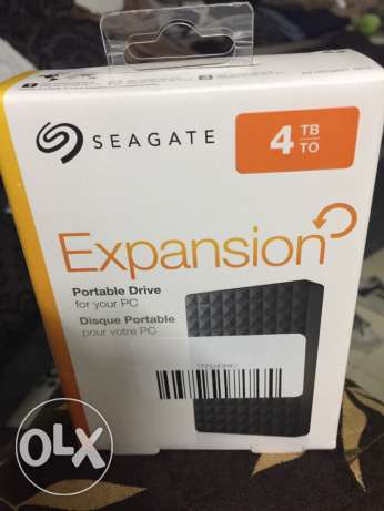 Seagate External hard disk - 4 TB - new sealed
