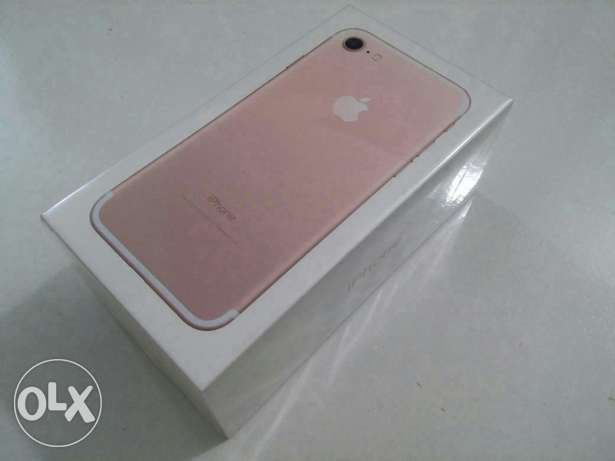 New | iPhone 7 32GB Rosegold | From KSA المنصورة -  2