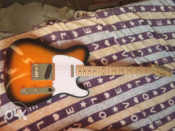 Fender Squire Telecaster Affinity ... guitar .. electric guitar جيتار
