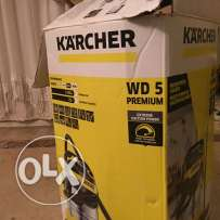 karcher WD5 multi-purpose vacuum cleaner wet/dry 25lt stainless