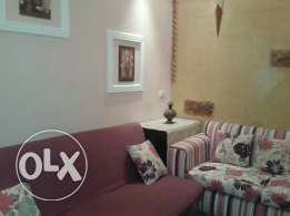 For rent flat in Hadaba one bedroom and living room