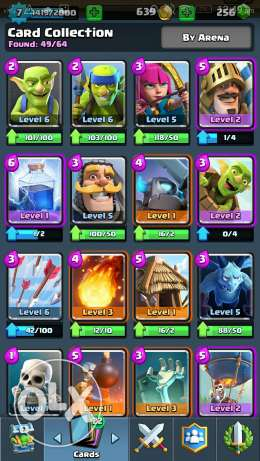 Clash royale arena 7 account حى الجيزة -  2