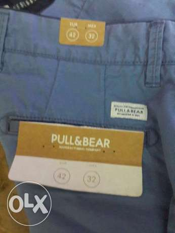 pull and bear original shorts and belt 2017 new collection