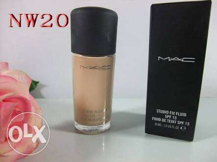mac studiofix foundation shade nw20 didn't use at all just tried once المعادي -  1