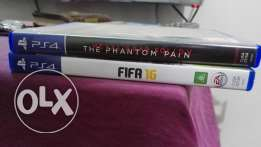Fifa 16 + Metal Gear Solid The Phant