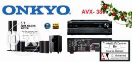 Home theater( Onkyo AVX -380 ) components import USA