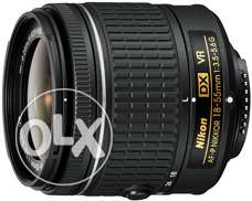 "Silent Auto Focus "" NIKKOR 18-55mm f:3.5-5.6G VR lens "" its a brand ne"