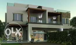 """Twin House in PK2 """"Palm Katameya Extension"""" in New Cairo"""