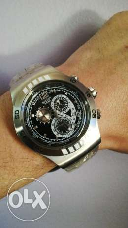 Swatch Black Dial Watch