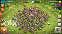 Clash of clans تاون 8
