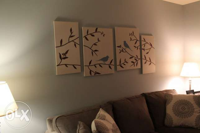 Canvas wall art(living room)