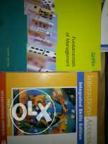 For sale two books fundamentals of management-Interactions access
