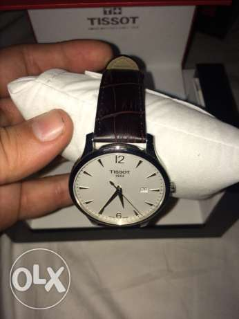 New unused brown leather tissot watch كفر عبدو -  3
