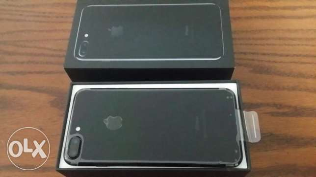 IPHONE 7 PLUS 128 GB jet black colour, new one, NOT ACTIVATED مدينة نصر -  3