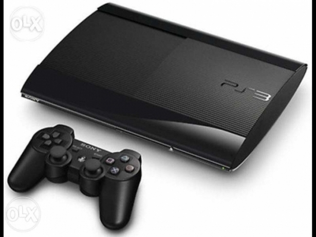 (جديد) playstation 3 superslim 12GB