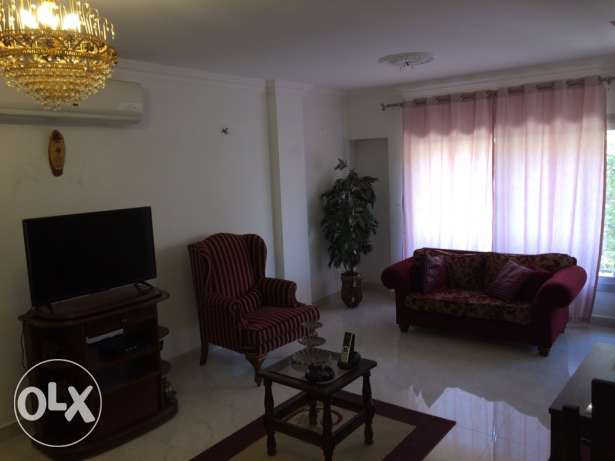 Rehab city rent for furnished flat