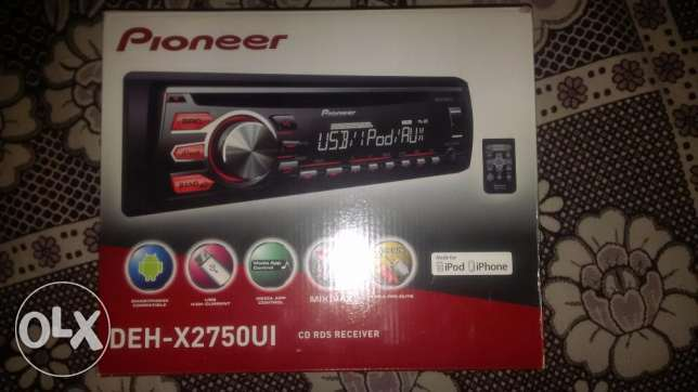 Pioneer Mixtrax & Sony Xplod amplifier