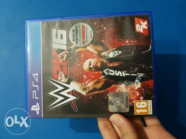2k16 wwe ps4 arabic