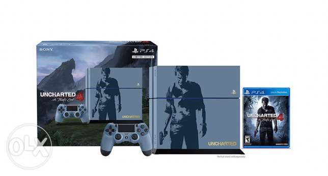 play station 4 uncharted edition 1 tera