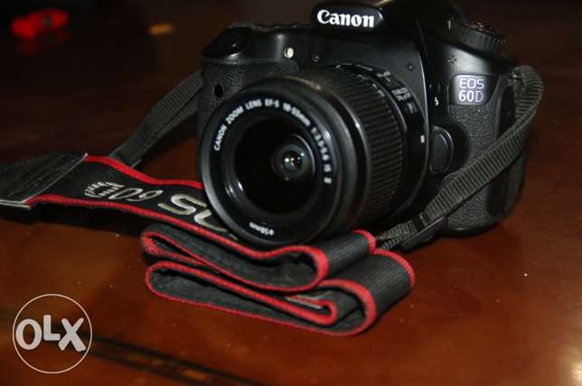 For Sell Only Camera professional Canon (D60)used