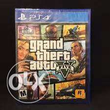 GTA V (5) Super Good Use, And In A Brand New Condition. مصر الجديدة -  1