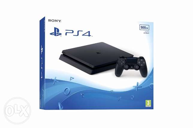 ps4 500 gb new and sealed
