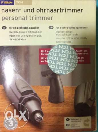 Personal trimmer / Tchibo German brands