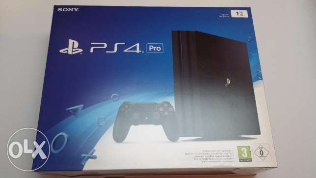 "Playstation 4 Pro ""PS4 PRO"" New - Sealed with 6 months warranty"