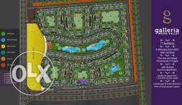Apartment in galleria moon valley 131 meter without over