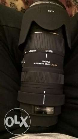 sigma lens 50-500 for canon