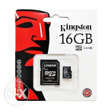kingston micro sd 16 giga . كارت ميمورى 16 جيجا . استعمال تجربه