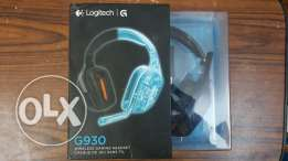 Logitech Wireless Gaming Headset G930 with 7.1