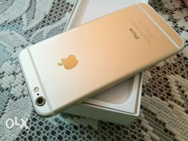 iphone 6 asnew 16 Gold
