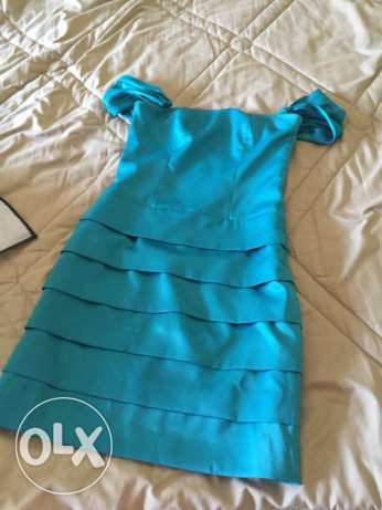 Short dress satin used once Small