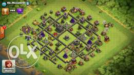 Th9 max . Clash of Clans