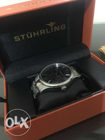Stuhrling Men's watch, Majestic Quartz Bracelet, Symphony Collection القاهرة الجديدة -  2