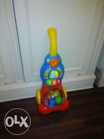 Educational vacuum toy fisher price brand
