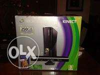 Xbox 360 250GB with 12 games ,2 controllers and Kinect sensor
