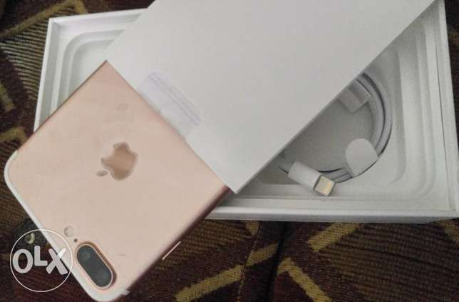 Iphone7pluse 128 rose gold
