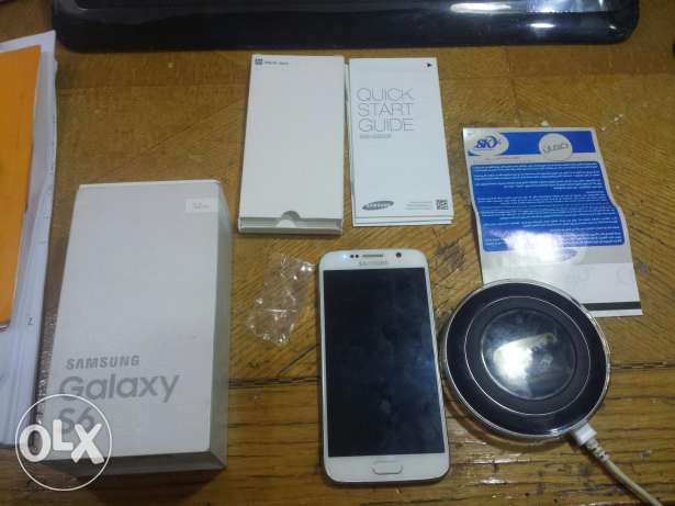 Samsung galaxy s6 with wireless charger broken screen