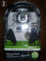 Web Camera And Headset