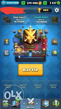 Clash Royale account for Sell