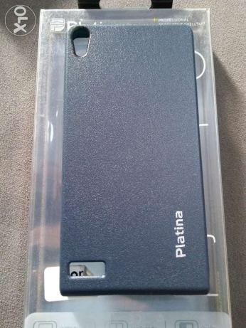 Huawei P6 Leather case .