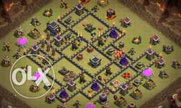 Clash of clans th 9 max Qween lvl 30