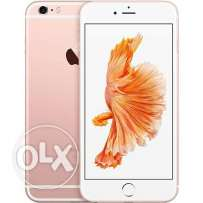 New | iPhone Gold 6S Plus 64 GB RoseGold | Sealed From UAE