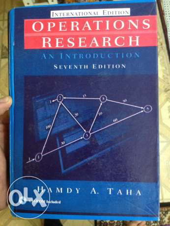 Operations Research Hamdi A. Taha