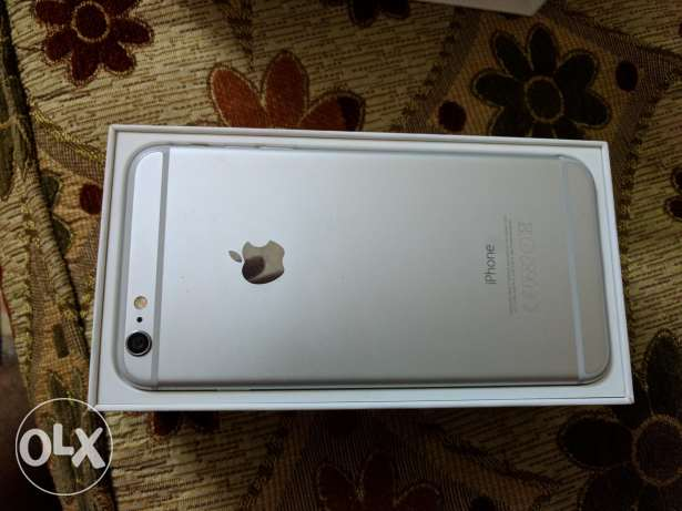 iPhone 6 Plus Silver White with face time