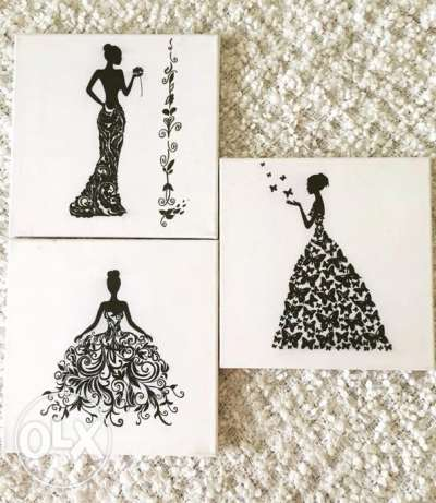 hand made paintings